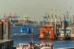 Hamburger Hafen St. Pauli