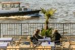 Entspannen am Hafen