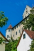 Die Burg Meersburg am Bodensee