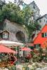 Am Fuße der Burg Meersburg