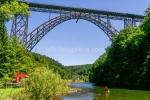 Müngstener Brücke über der Wupper