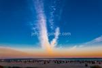 Der Strand Neuharlingersiel am frühen Morgen