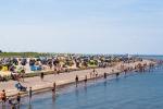 Der Strand Neuharlingersiel wurde dem Meer abgerungen