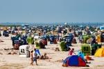 Strandleben vor Neuharlingersiel