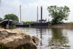 Schiffsbrücke Wuppermündung