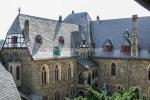 Burghof Schloss Burg