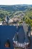 Die Dächer von Schloss Burg