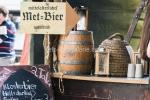 Met-Bier auf dem Mittelaltermarkt