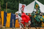 Ritter stürmen in den Kampf