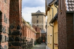 Stadtmauer und Torturm der Feste Zons